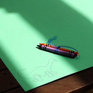 placemat Coloring Activity