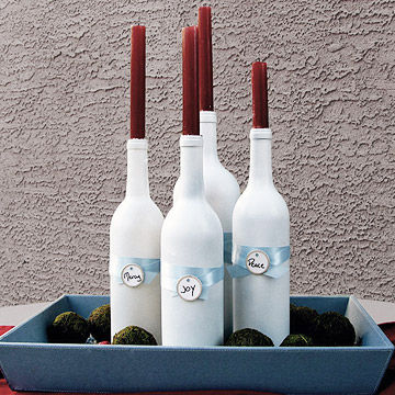 Bottle Candelabra