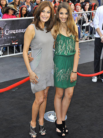 Teri Hatcher and Emerson Hatcher