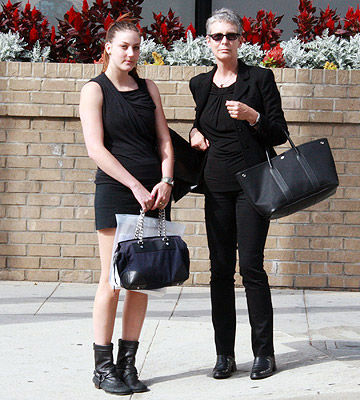 Jamie Lee Curtis with daughter Annie