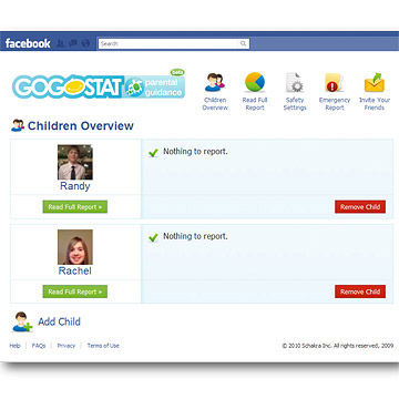 GoGoStat's Parental Guidance (Mobile App)