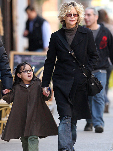 Meg Ryan and Daisy True Ryan