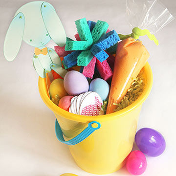 Best easter basket ideas without candy creative play easter basket negle Images
