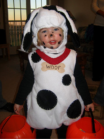 Cute animal themed costumes for kids dalmatian halloween costume solutioingenieria Image collections