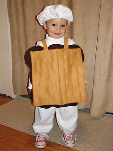 s'more Halloween costume