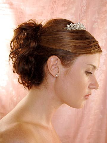 SpOccHair_Brown hair back curls tiara