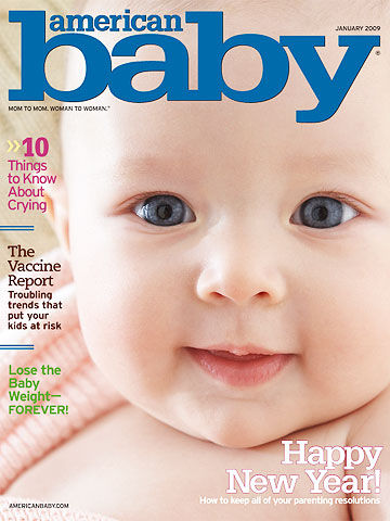 American Baby January 2009 cover