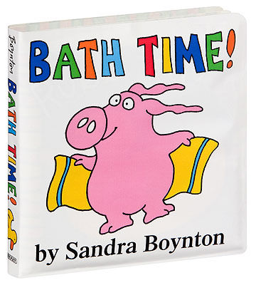 Sandra Boynton Bath Time Book