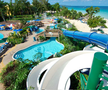 Beaches Negril Resort & Spa Waterslide