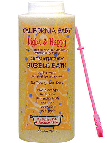 California Baby Light & Happy Aromatherapy Bubble Bath