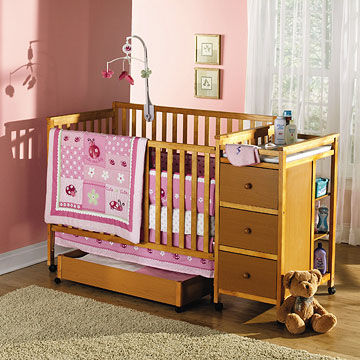 Victoryland 4-in-1 Crib Changer Combo