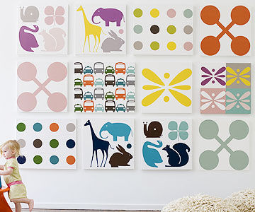 dwellshop wall art  sc 1 st  Parents Magazine & Cool Wall Art and Artwork for the Nursery