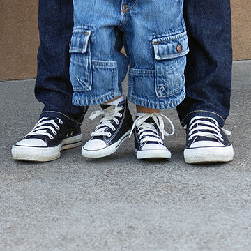 Buying Childrens First Walking Shoes