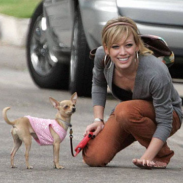 Hilary Duff and Lola