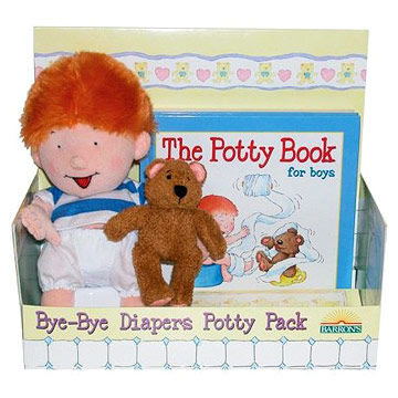 Bye-Bye Diapers Potty Pack