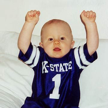 Jacob The K State Football Baby
