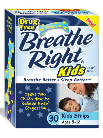 Breathe Right Kids Strips