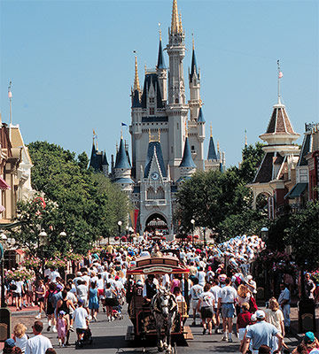 Main Street, U.S.A. in the Magic Kingdom