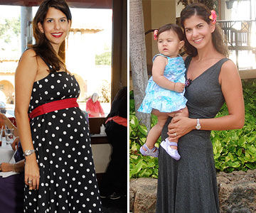 Maral Before & After Losing the Baby Weight