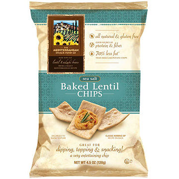 The Mediterranean Snack Food Co. Baked Lentil Chips