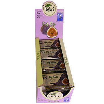 Oskri Organic Fig fruit bar