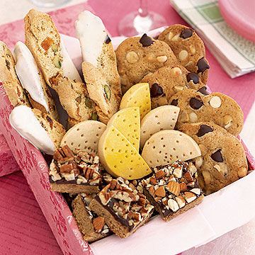 Shortbread, Nuts and Squares