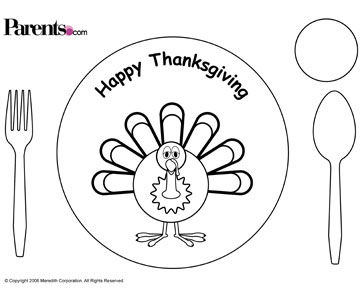 Printable Thanksgiving Crafts For Kids And Parents