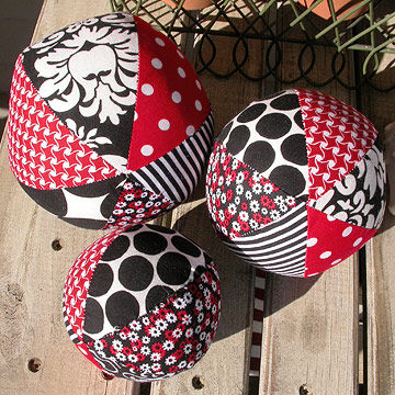 Fabric Ball Set