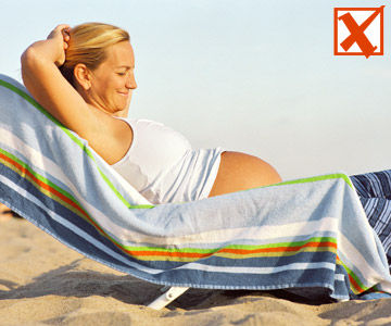 Tanning Bed and Pregnancy