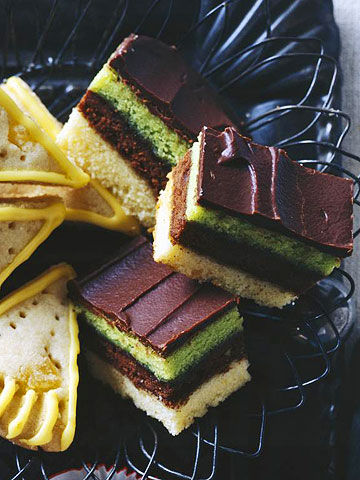Mint-Layered Bars