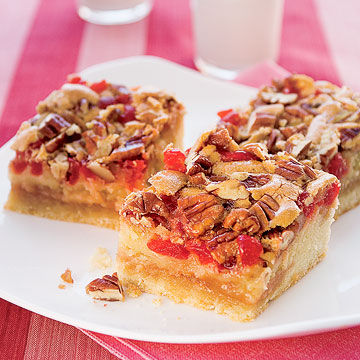 Charleston Cherry Bars