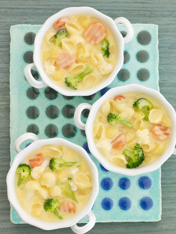Mac-and-Cheese Soup
