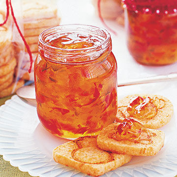 Cheesy Biscuits and Holiday Pepper Jelly