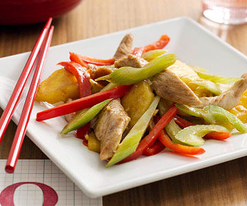 fruity chicken stir-fry