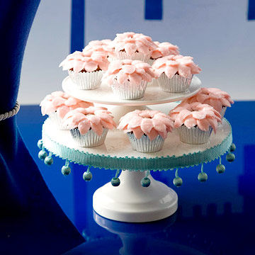 sugarplum fairy cupcakes