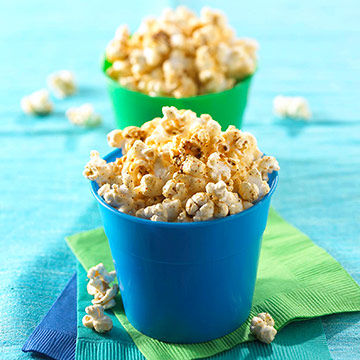 Cheesy Chili Popcorn