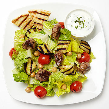 Grilled Moroccan-Style Salad