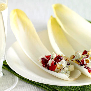 Cheese-filled endive
