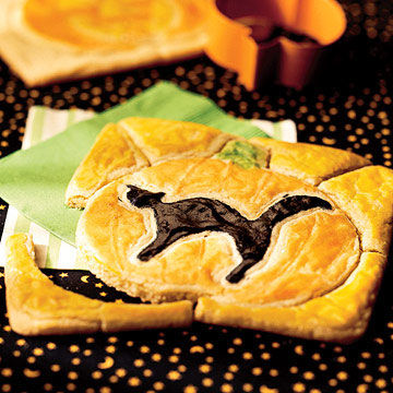 Black Cat Puzzle Cookies
