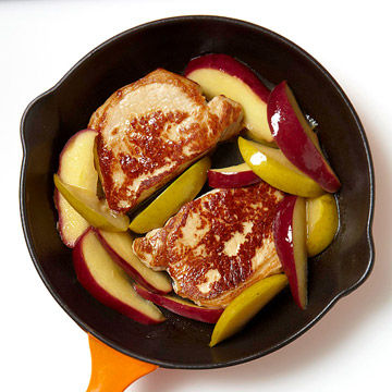 Pork With Apples and Pears