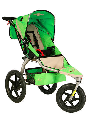 BOB Revoultion strollers, green