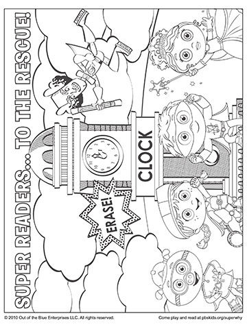 Super Why Super Readers Comic