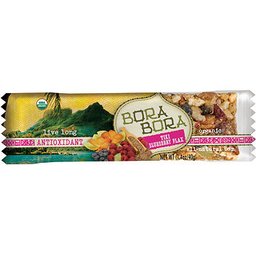 Tiki Blueberry Flax Bora Bora bar
