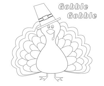 Use our free printable designs to keep kids of all ages for Thanksgiving coloring page free