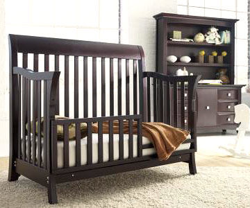 Crib bed rails