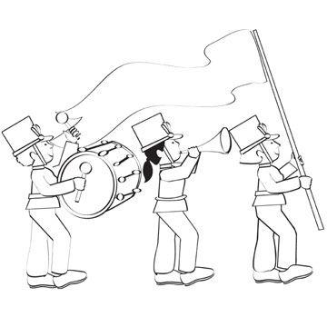 parade coloring pages - photo#12