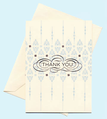Peculiar Pair Press thank you card