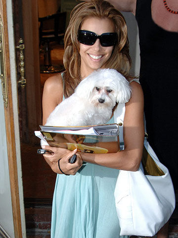 Eva Longoria and Jinxy