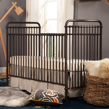 Rustic Nursery Decor Ideas Vintage Iron Crib