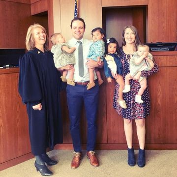 carling family adoption in court
